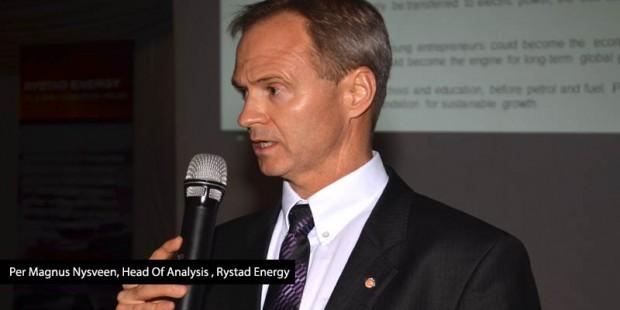 Per Magnus Nysveen, Head of Analysis, Rystad Energy