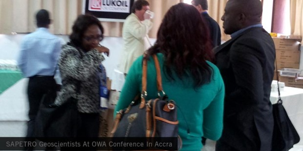 SAPPETRO Geoscientists at OWA CONFERENCE