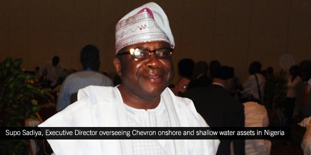 Supo Sadiya, Executive Director overseeing Chevron onshore and shallow water assets in Nigeria