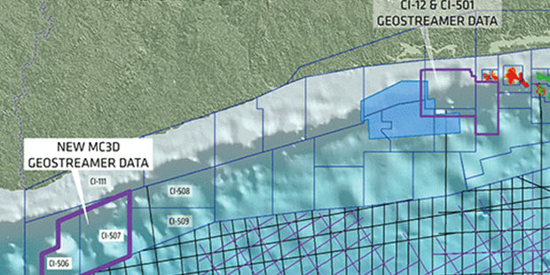 PGS Acquires Two MultiClient 3D Surveys Off Cote D'Ivoire