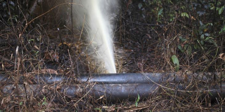 Agip Oil Pipeline Attack