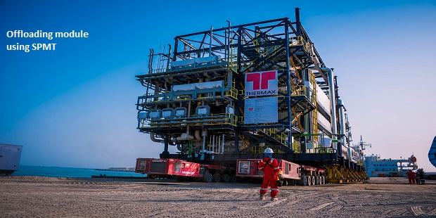Mammoet Completes Heavy Lifting and Transport Scope for Dangote Refinery