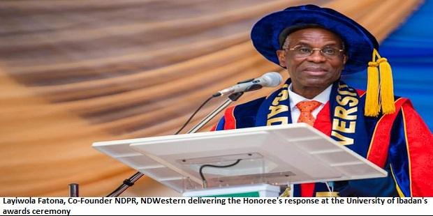 UI Grants Two Oil Chiefs Its Highest Honorary Awards